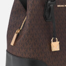 MICHAEL MICHAEL KORS Women's Mercer Gallery Center Zip Tote Bag - Logo
