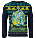 Rick & Morty Knitted Christmas Jumper - Black