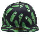 Rick and Morty Pickle Rick Snapback - Black