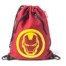 Marvel Iron Man Men's Rubber Print Gym Bag - Red