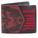 Marvel Thor and The Hulk Men's Bifold Wallet with Embroidery - Red