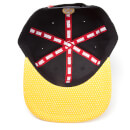 Marvel X-Men Men's Wolverine Mask Snapback Cap - Black