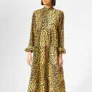 Ganni Women's Bijou Dress - Leopard