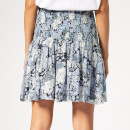 Ganni Women's Elm Georgette Skirt - Heather