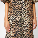Ganni Women's Cedar Dress - Leopard