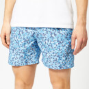 Orlebar Brown Men's Bulldog Ninfea Swim Shorts - Bahama Blue/Navy/White
