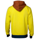 Rick and Morty Men's Logo Zip Through Hoody - Yellow