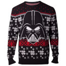 Star Wars Darth Vader Christmas Knitted Jumper - Black