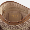 DKNY Women's Casey Zip Cross Body Bag - Cream