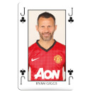 Waddingtons No. 1 Playing Cards - Man United