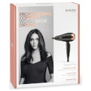 BaByliss Travel Pro AC Hair Dryer - Black/Rose Gold