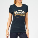 Superdry Women's Vintage Logo Metalwork Entry T-Shirt - Eclipse Navy