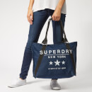 Superdry Women's Amaya Twill Tote Bag - Navy