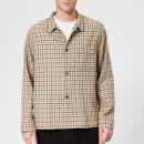 Our Legacy Men's Box Check Shirt - Brown