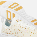 Athletic Propulsion Labs Women's Phantom Calf Hair Trainers - Cream/Gold