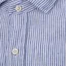 d0cf33987 Polo Ralph Lauren Men s Linen Spead Estate Shirt - Blue - Free UK ...