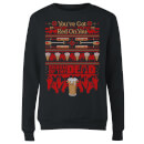 Shaun Of The Dead You've Got Red On You Christmas Women's Sweatshirt - Black