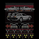 Back To The Future Back In Time for Christmas Men's T-Shirt - Black