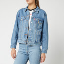 Levi's Women's Ex-Boyfriend Trucker Jacket - Soft As Butter