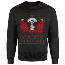 Universal Monsters Dracula Christmas Sweatshirt - Black