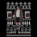 Pull de Noël Femme I'm Dreaming Of A White Russian The Big Lebowski - Noir