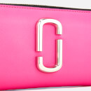 Marc Jacobs Women's Snapshot Continental Wallet - Bright Pink Multi