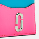 Marc Jacobs Women's Snapshot Card Case - Bright Pink Multi