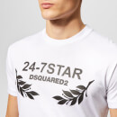 Dsquared2 Men's 24-7 T-Shirt - White/Black