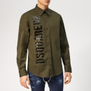 Dsquared2 Men's Military Shirt - Military Green