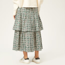 Golden Goose Deluxe Brand Women's Miranda Skirt - Green Flowers