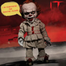 Mezco IT Pennywise Talking Mega-Scale 15 Inch Doll