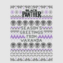 Marvel Avengers Season's Greetings From Wakanda Christmas Sweatshirt - Grey
