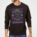Marvel Avengers Black Panther Christmas Sweatshirt - Black