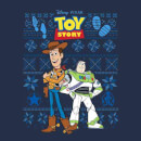 Disney Toy Story Men's Christmas T-Shirt - Navy