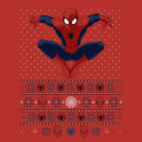 Marvel Avengers Spider-Man Men's Christmas T-Shirt - Red