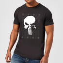 Marvel Punisher Men's Christmas T-Shirt - Black