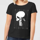 Marvel Punisher Dames kerst T-shirt - Zwart