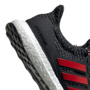 adidas Men's Ultraboost Running Shoes - Black/Scarlet