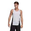 adidas Men's Sub 2 Tank Top - White/Black