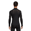 adidas Men's Alphaskin Compression Top - Black