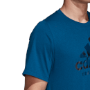adidas Men's Badge T-Shirt - Legend Marine