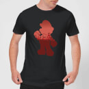 Nintendo Super Mario Silhouette Men's T-Shirt - Black