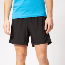 adidas Men's Own the Run 2 in 1 5 Inch Shorts - Black