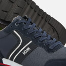 BOSS Men's Parkour Runner Style Trainers - Dark Blue