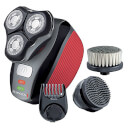Remington XR1410 Flex360 Rotary Electric Shaver and Groom Kit - Red/Black