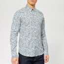 PS Paul Smith Men's Long Sleeve Tailored Fit Shirt - White