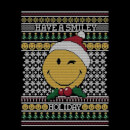 Smiley World Have A Smiley Holiday Men's Christmas T-Shirt - Black