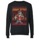 Pull de Noël Homme Johnny Bravo Johnny Bravo Motifs Festifs Noir