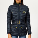 Barbour International Women's Gleann Quilted Coat - Navy