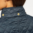 Barbour International Women's Penhal Quilted Coat - Navy